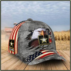 American Flag Eagle U.S Army Patriotic Proud 1Cap