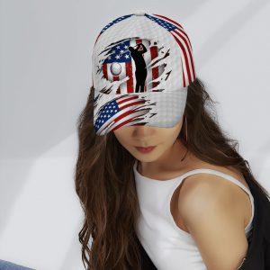 American Flag Golfer Cap3