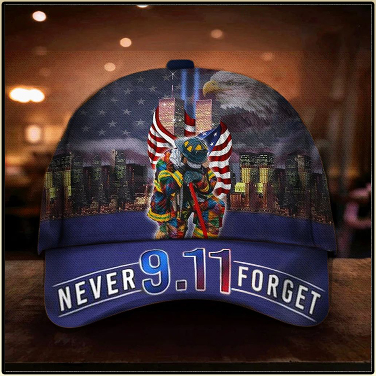 American Flag Never 9.11 Forget 1Cap