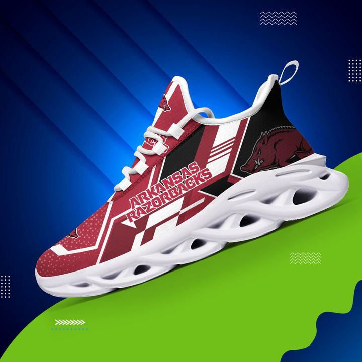 Arkansas razorbacks max soul clunky shoes 1