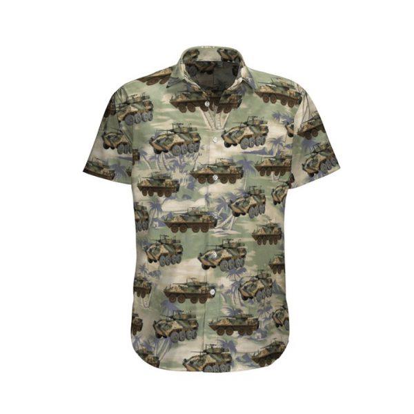 Aslav 25 Tank Australian Army Hawaiian Shirt And Shorts