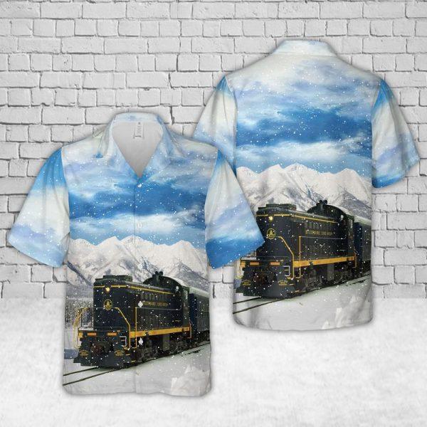 Baltimore and Ohio Railroad Hawaiian Shirt