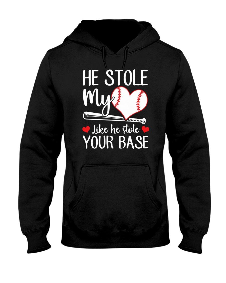 Baseball he stole my heart like he stole your base shirt 14