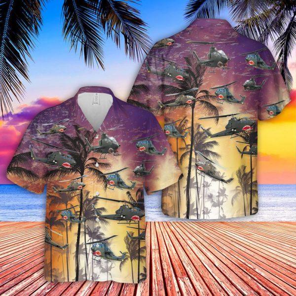Bell AH 1 Cobra Hawaiian Shirt