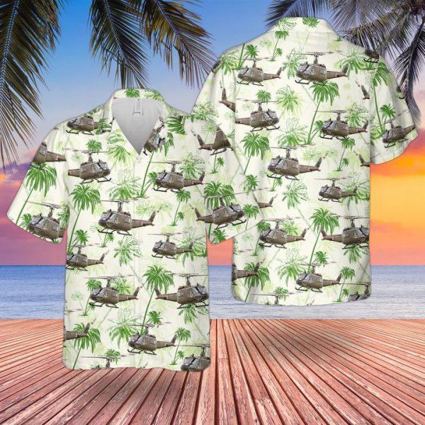 Bell UH1 Huey Iroquois Hawaiian Shirt