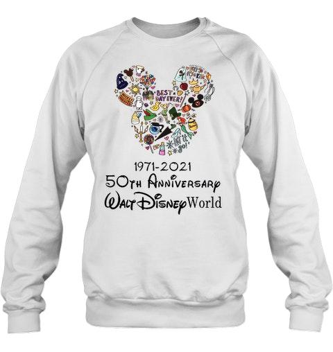 Best day ever 1971 2021 50th anniversary Walt Disney world shirt 11