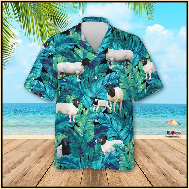 Black Headed Dorper Sheep Hawaiian Shirt3 1