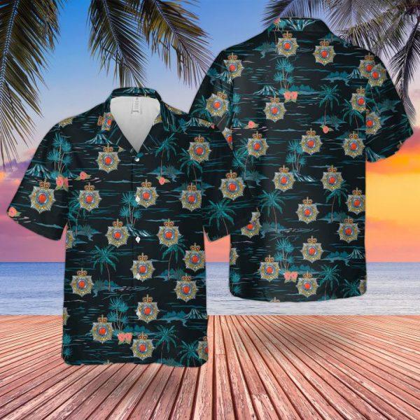 British Royal Corps Of Transport Hawaiian Shirt and short