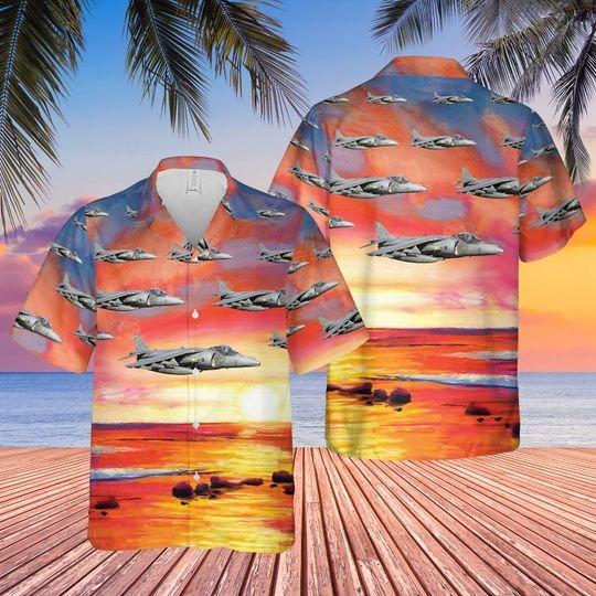 British aerospace harrier II harrier gr7 hawaiian shirt 3 1