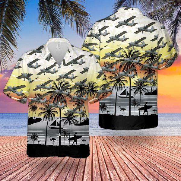 Britten Norman Bn 2t Islander Hawaiian Shirt