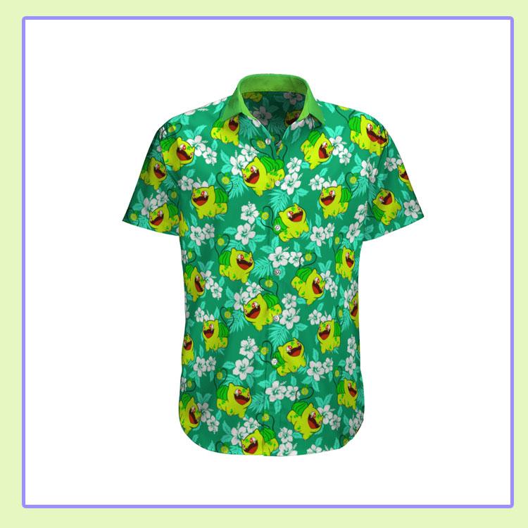 Bulbasaur Pokemon Hawaiian Shirt