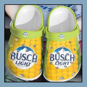 Busch light corn crocs clog crocband1
