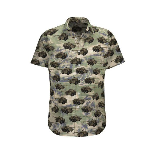 Camo Amx 10 Rc French Army Hawaiian Shirt And Shorts