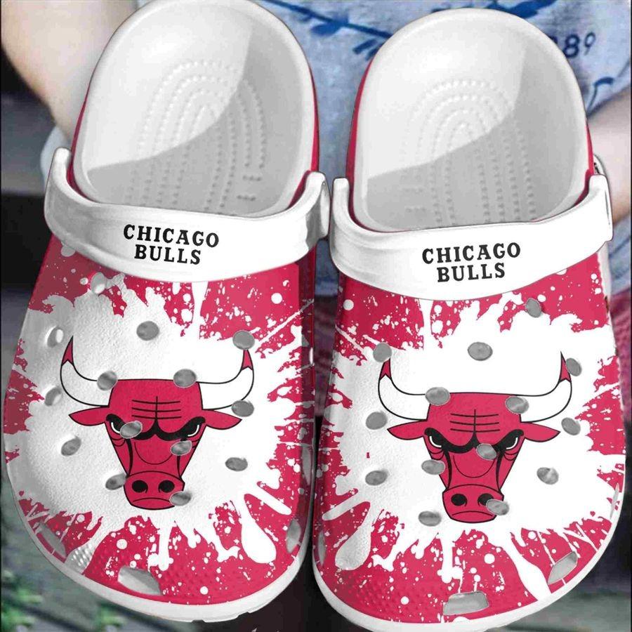 Chicago bulls croc crocband clog