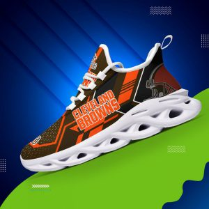 Cleveland brown nfl max soul clunky shoes 1