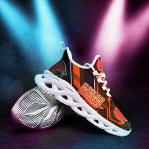 Cleveland brown nfl max soul clunky shoes 3