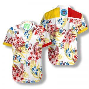 Columbus Proud Hawaiian Shirt 1