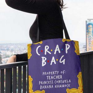 Crap Bag Propety Of Teacher Princess Consuela Banana Hammock Tote Bag