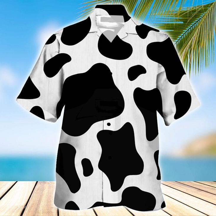 Dairy Catle Ocean Hawaiian Shirt