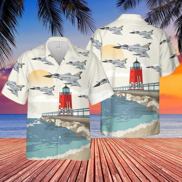 Delta Dart Michigan Hawaiian Shirt