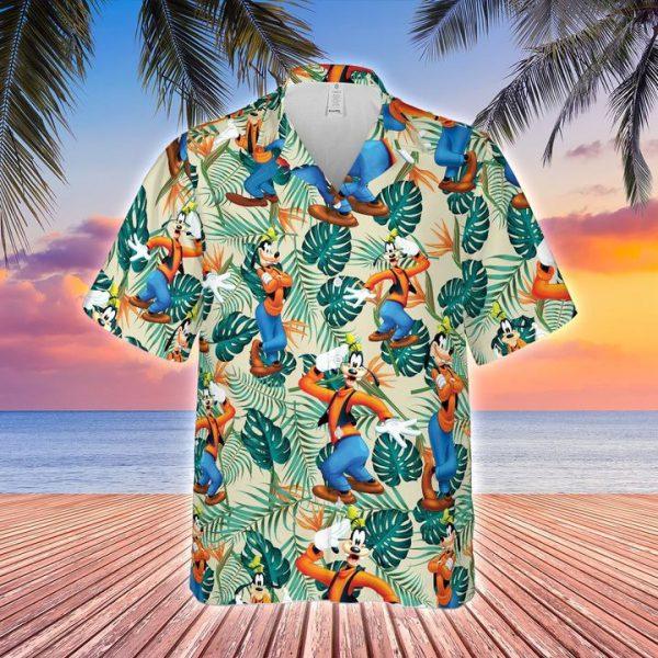 Disney Goofy hawaiian shirt