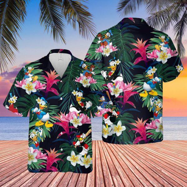 Donald Duck hawaiian shirt and short