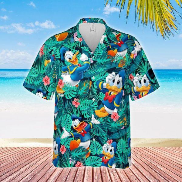 Donald Duck hawaiian shirt cloud