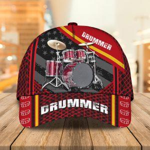 Drummer American Custom Name Cap 1