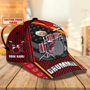 Drummer American Custom Name Cap1