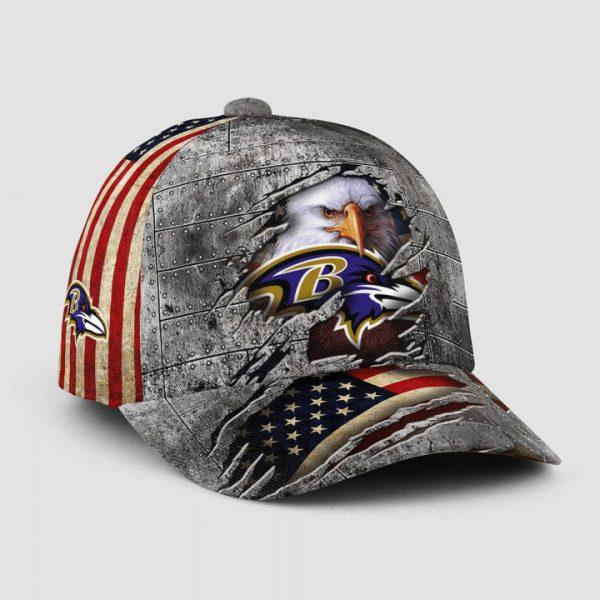 Eagle America Baltimore Ravens Cap