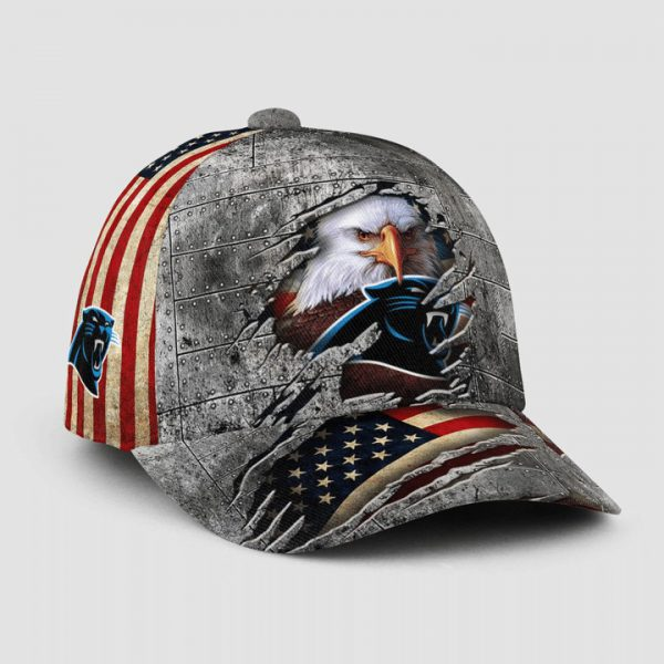 Eagle America Carolina Panthers Cap