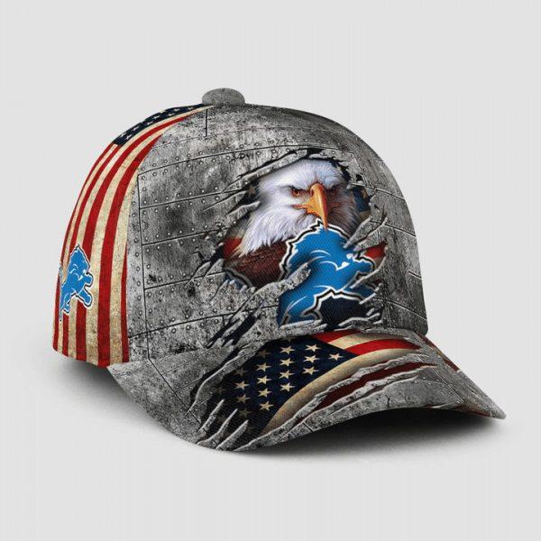 Eagle America Detroit Lions Cap