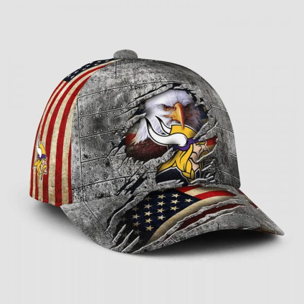 Eagle America Minnesota Vikings Cap