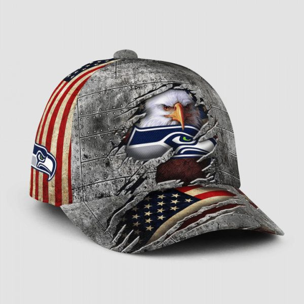 Eagle America Seattle Seahawks Cap