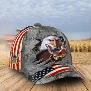Eagle American Flag Cap