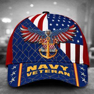 Eagle American Navy Veteran Cap