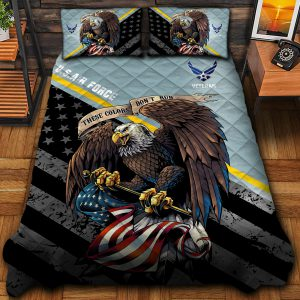Eagle U.S Air Force Veteran All Gave Some Some Gave All And Bedding Set