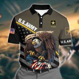Eagle U.S Army Veteran Polo Shirt1
