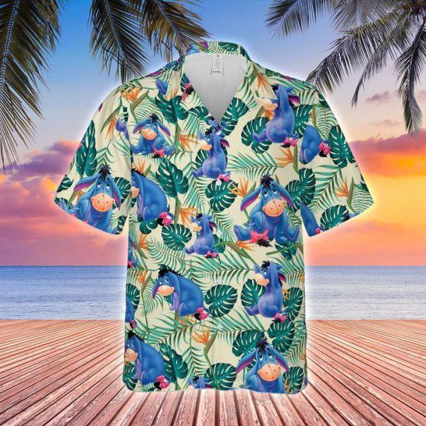 Eeyore hawaiian shirt