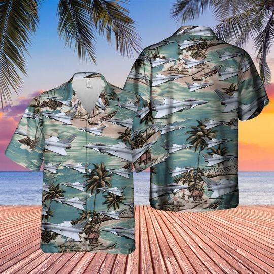 Eurofighter typhoon fgr4 hawaiian shirt 1