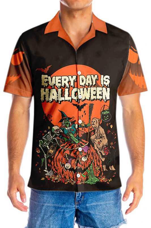 Everyday Is HalloWeen Hawaiian Shirt3 1