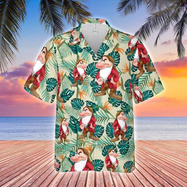 Grumpy Hawaiian shirt