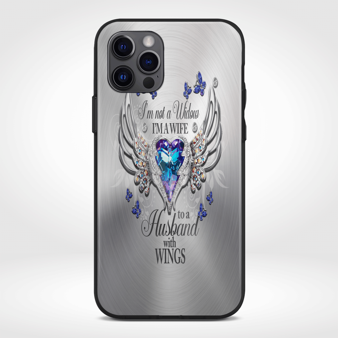 Im Not A Widow Im A Wife To Husband With Wings Ornaments Phone Cases2