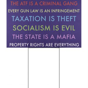 In This House We Believe The Atf Is A Criminal Gang Yard Signs
