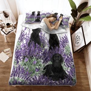Labrador Lavender Quilt2