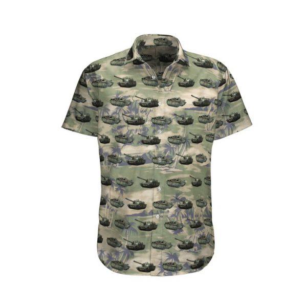 Leclerc French Army Hawaiian Shirt And Shorts