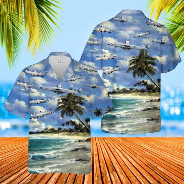 Lockheed EC 121 Warning Star Hawaiian Shirt