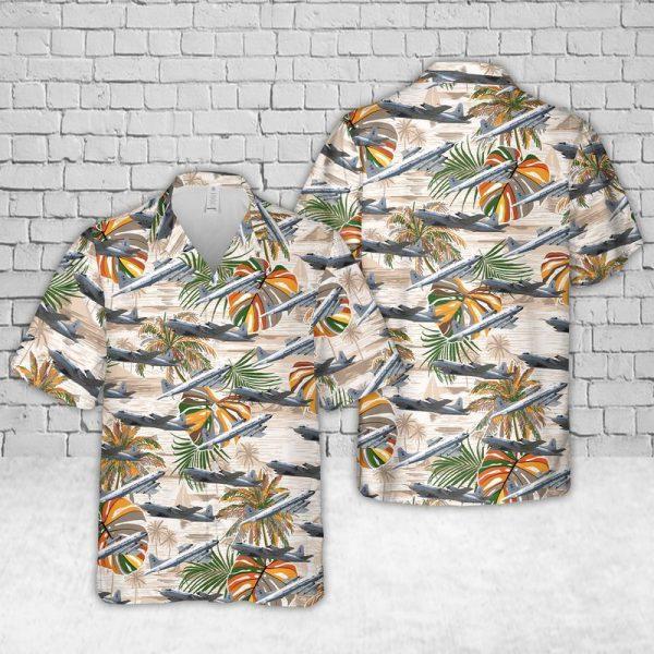 Lockheed WP 3D Orion Hawaiian Shirt