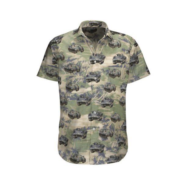 M113a1 Australian Army Hawaiian Shirt And Shorts