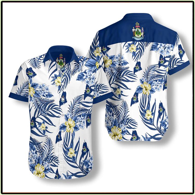 Maine Proud Hawaiian Shirt1